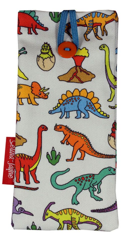 Selina-Jayne Dinosaurs Limited Edition Designer Soft Glasses Case